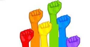 LGBT fists