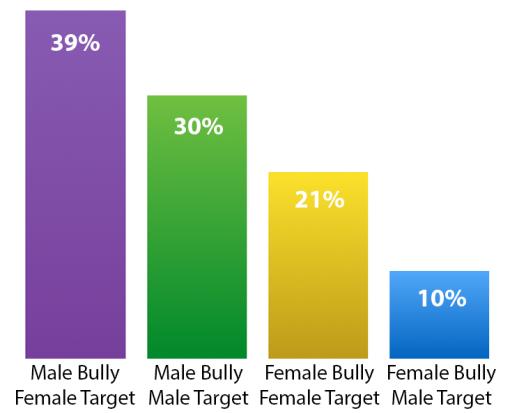 Bullying by Binary Gender